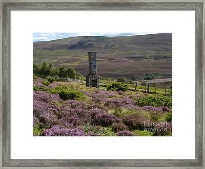 Saltire Chimney Stack  Framed Print