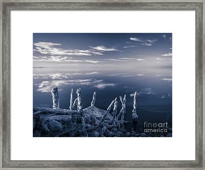 Salton Sea Framed Print by Jennifer Magallon