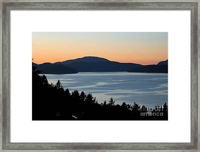 Saltspring Island Framed Print by Brian Arnold