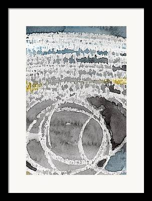 Saltwater Framed Prints
