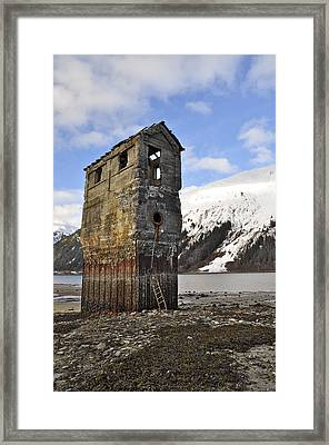 Saltwater Pump House Framed Print by Cathy Mahnke