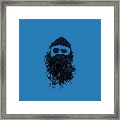Salty Beard Framed Print by Life is Good