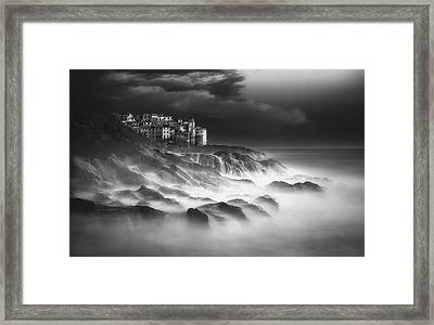 Salty Taste Framed Print