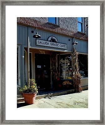Saluda Grade Cafe Saluda Nc Framed Print