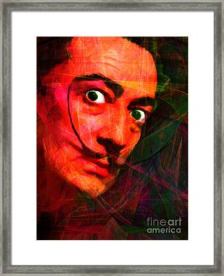 Salvador Dali 20141213 V2 Framed Print by Wingsdomain Art and Photography
