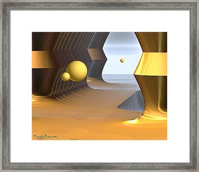Salvador Dali Eternal Ranch. 2013 80/64 Cm.  Framed Print by Tautvydas Davainis
