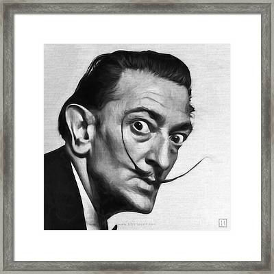 Salvador Dali Framed Print by Lonnie Christopher