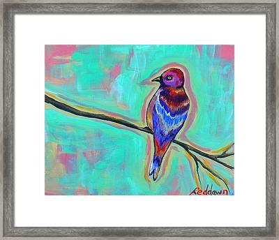 Salvaje Framed Print by Dawn Gray Moraga