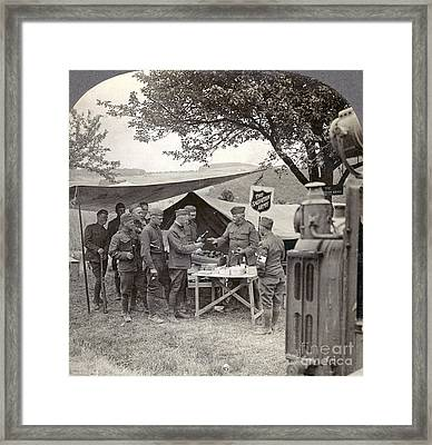 Salvation Army At Front Framed Print by Granger