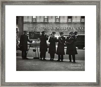 Salvation Army Framed Print by Dick Hanley