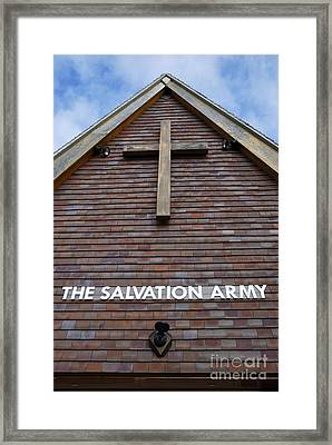 Salvation Framed Print by Doug Wilton