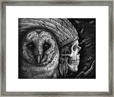 Salvation Upon Us Framed Print by Danielle Trudeau