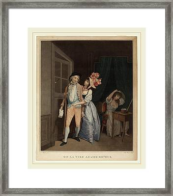 Salvatore Tresca After Louis-léopold Boilly Italian Framed Print by Litz Collection