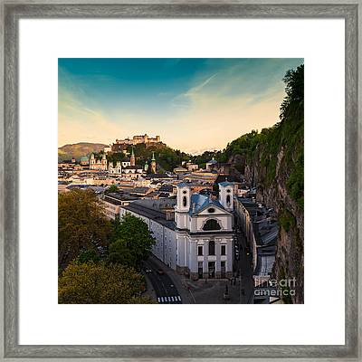 Salzburg 06 Framed Print by Tom Uhlenberg