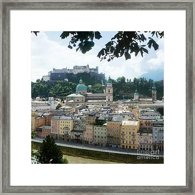 Salzburg Austria Old Town 3 Framed Print