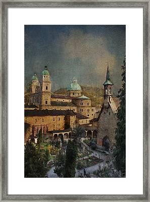 Salzburg Framed Print by Chanin Green