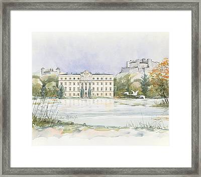 Salzburg Sound Of Music  Framed Print
