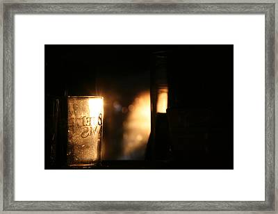Framed Print featuring the photograph Sam Adams by David S Reynolds