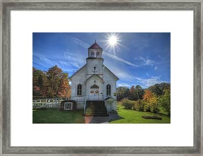 Sam Black Church Framed Print by Jaki Miller