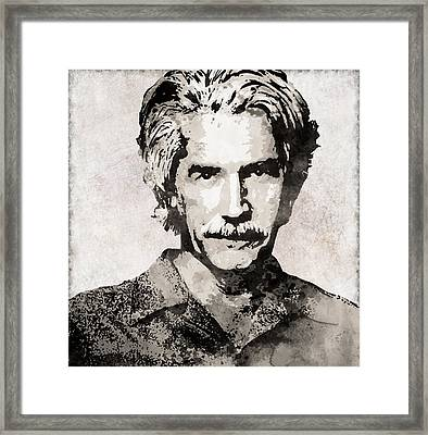 Sam Elliott 3 Framed Print
