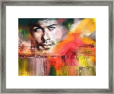 Sam H Framed Print by Francoise Dugourd-Caput