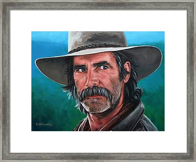 Framed Print featuring the painting Sam by Rick McKinney