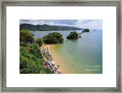 Samana In Dominican Republic Framed Print by Jola Martysz