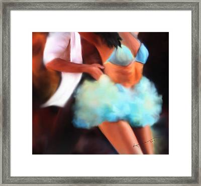 Samba Framed Print by Kume Bryant