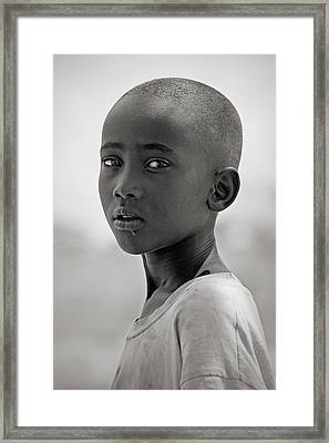Framed Print featuring the photograph Samburu #1 by Antonio Jorge Nunes