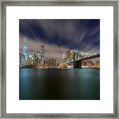 Framed Print featuring the photograph Same Bat Time  by Anthony Fields
