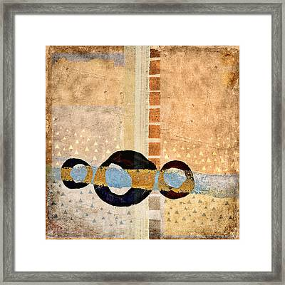 Same River Three Times Framed Print by Carol Leigh