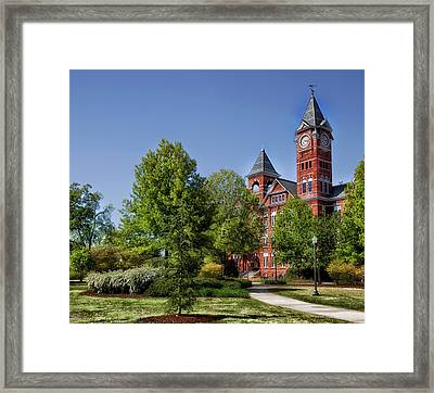 Samford Hall - Auburn University Framed Print by Mountain Dreams