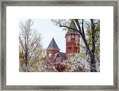 Samford Hall IIx Framed Print by Victoria Lawrence