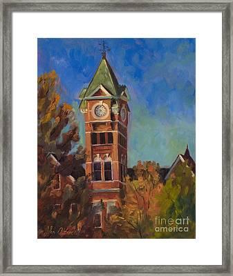 Samford Hall Framed Print by John Albrecht