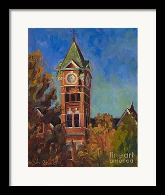 Samford Hall Framed Prints
