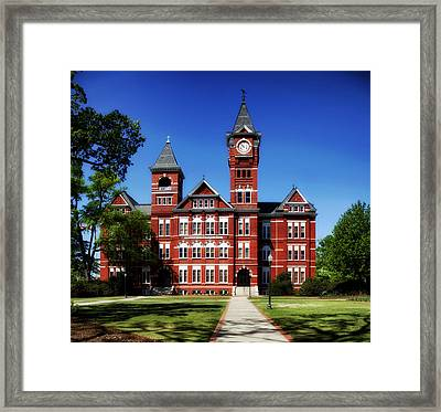 Samford Hall On The Campus Of Auburn University Framed Print by Mountain Dreams