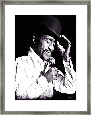 Sammy Davis Jr. Performing Mr. Bojangles Framed Print