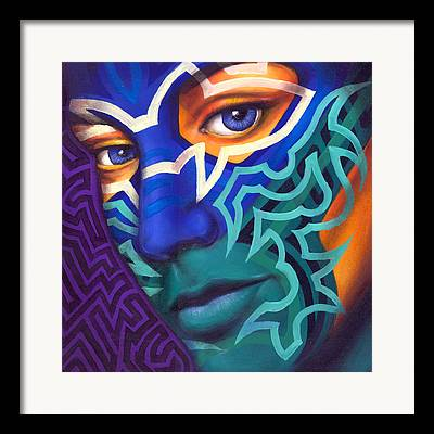 Tribal Framed Prints