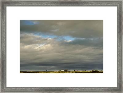 Samoan Sky Framed Print