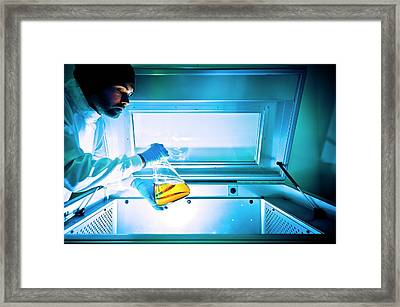 Sample Agitator Framed Print