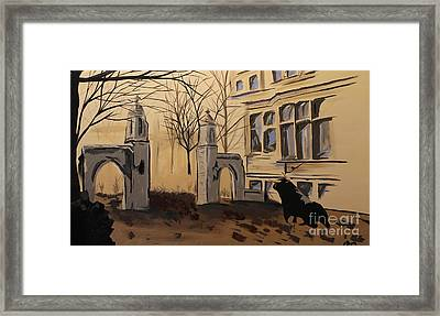 Sample Gates Framed Print