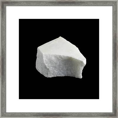Sample Of Marble Framed Print