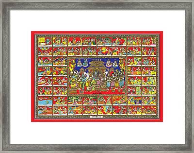 Sampoorna Ramayana Framed Print