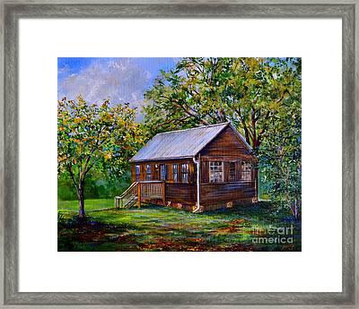 Sams Cabin Framed Print by AnnaJo Vahle