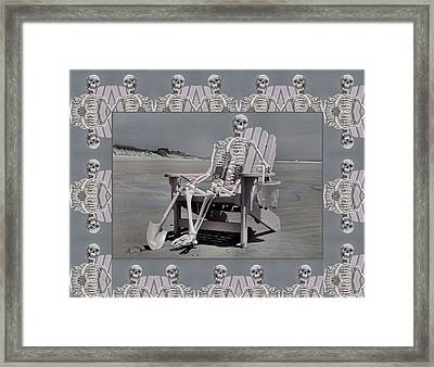 Sam's Humerus Office Wall Decor Framed Print by Betsy Knapp