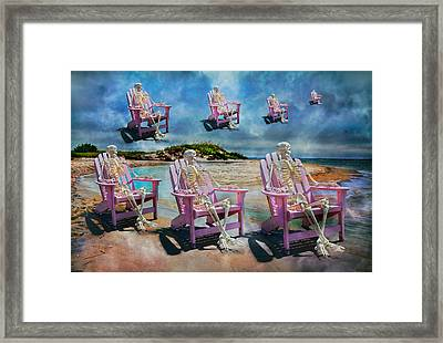 Sam's Imagination  Framed Print by Betsy C Knapp
