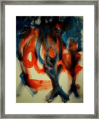 Sam's Peep's Framed Print by Samuel Marlow