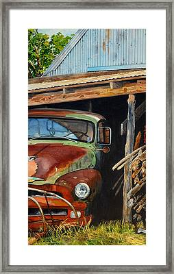 Sams Truck Framed Print by Robert W Cook