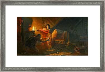 Samson And Dalida Framed Print