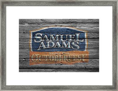Samuel Adams Framed Print by Joe Hamilton